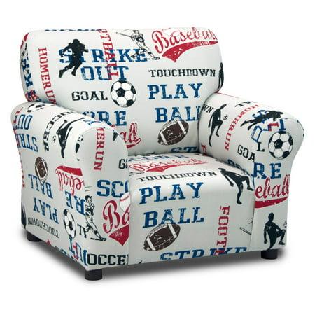 Kidz Sports Blue Club Chair