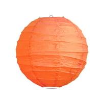 LumaBase Crisscross Paper Lanterns - Set of 5
