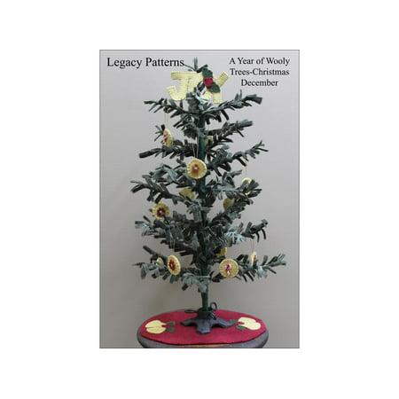 Legacy Patterns Wooly Trees Dec Christmas Ptrn