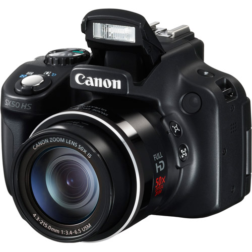 Canon PowerShot SX50 Ultra-Zoom Digital Camera with 12.1 Megapixels and 50x Optical Zoom