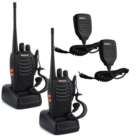 Retevis H_777 Walkie Talkie UHF 400_470MHz 3W 16CH with Original Earpiece Handheld Amateur Radio Transceiver 2 Way Radio _2