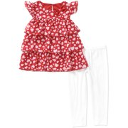 Healthtex Tdlr Girl Tier Chiffon Set