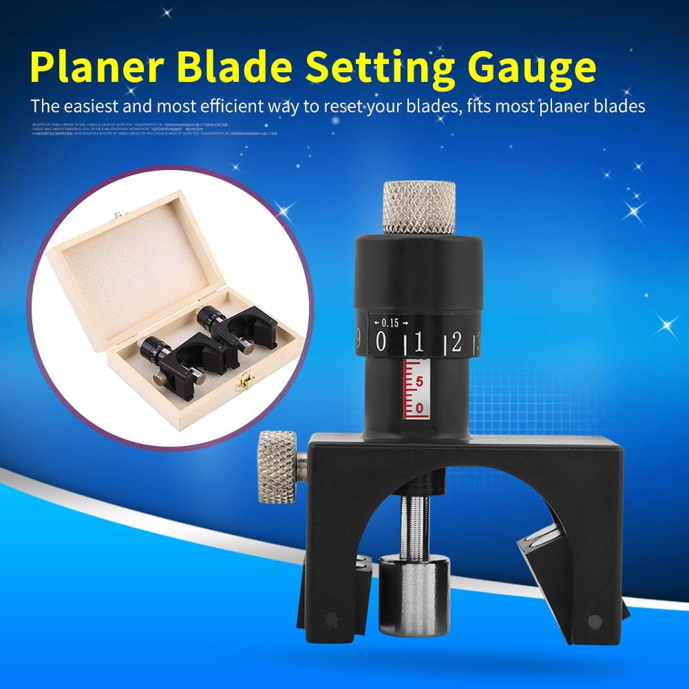 2pcs Magnetic Planer Blade Setting Jig Gauge Setter Woodworking Tool, Planer Blade Setting... by