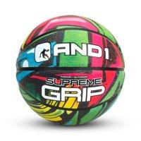 AND1 SUPREME GRIP BASKETBALL COLOR (PINK/GREEN)