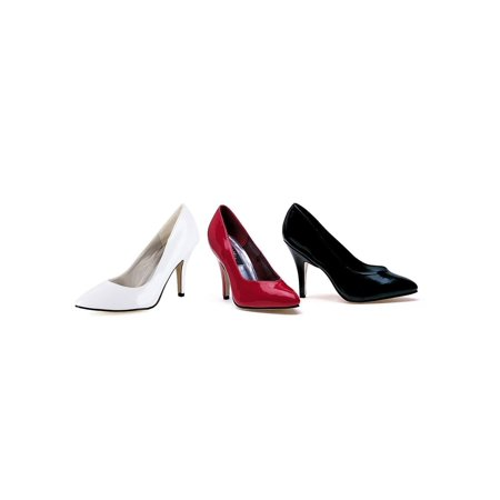 Ellie Shoes E-8400 4 Heel B Width Pump White / 6 - image 1 de 1