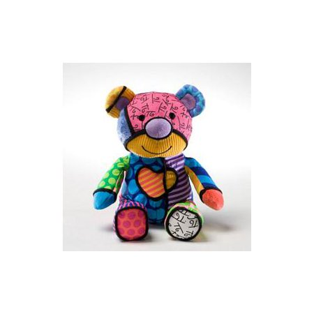 britto by internationally acclaimed artist romero britto for enesco mini bear stuffed animal plush