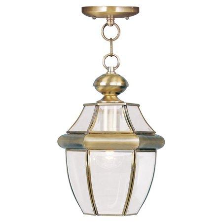 Livex Lighting Monterey 1 Light Outdoor Chain Lantern (01 Monterey Outdoor Light)