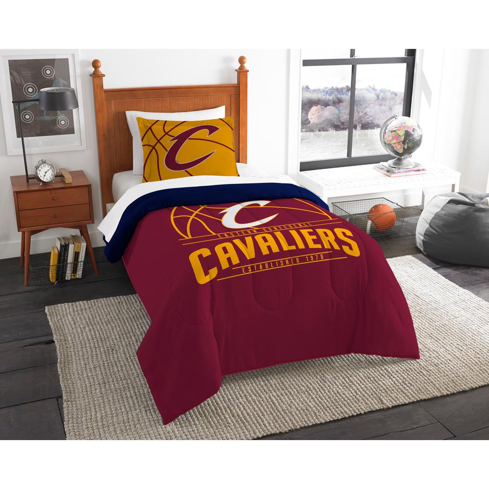 "NBA Cleveland Cavaliers ""Reverse Slam"" Bedding Comforter Set"