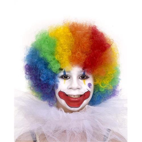 Forum Novelties 5090 Multi Colored Childs Clown Wig