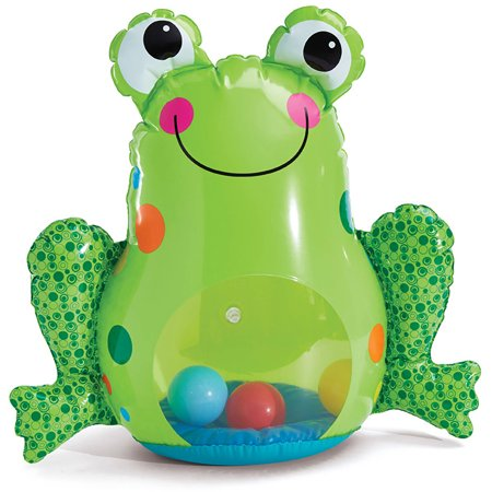 International Playthings Earlyears Inflatable Froggy Roly Poly