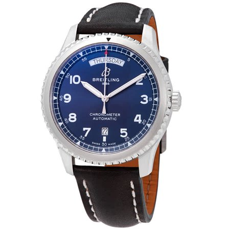 Breitling Navitimer 8 Automatic Chronometer Blue Dial Men's Watch A45330101C1X1
