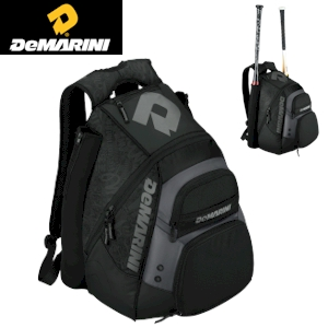 DeMarini Voodoo Paradox Backpack - Black/Insane