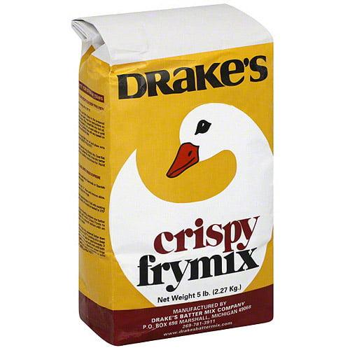 Drake's Crispy Frymix, 5LB (Pack of 10)