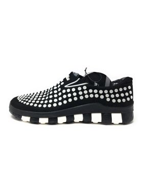new product 5865b 90188 Product Image CCILU Mens Horizon Amazon Slip On Sneaker Shoe Black   White  Dot Size ...