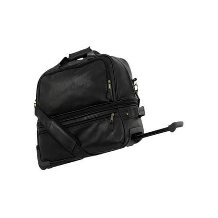 Mercury Luggage Highland II Expandable Sport Rolling Duffel Bag (Mercury Luggage Bag)
