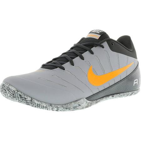 Nike Men's Air Mavin Low 2 Wolf Grey / Bright Citrus Ankle-High Baseball  Shoe - 12M