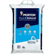 Morton® Salt Pure and Natural® Water Softener Salt Crystals, 40 lb. Bag