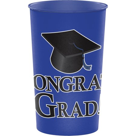 Blue Graduation Keepsake Cups ()