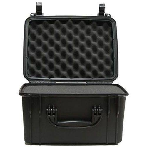 "Seahorse SE540F Waterproof Handgun Case, 15"" x 12"" x 9"", Polylac 727 ABS, Black"