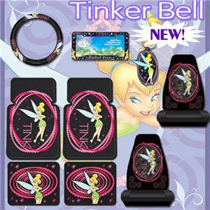 Fabulous 9Pc Tinkerbell Tink Car Mats Seat Covers Set Shipping Included Pabps2019 Chair Design Images Pabps2019Com