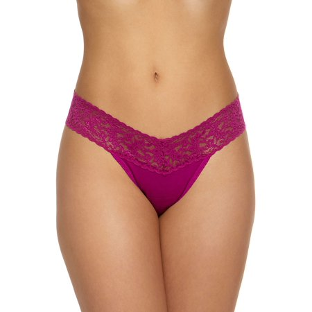 Low-Rise Cotton Thong ()