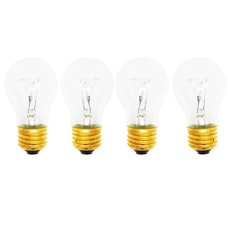 Chem Lights Bulk (4-Pack Replacement Light Bulb for Magic Chef 9122VUV - Compatible Magic Chef 8009 Light)