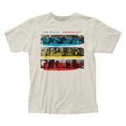 Impact Merchandise IM-POL11-XL The Police Synchronicity Fitted Jersey T-Shirt, Vintage White - Extra Large