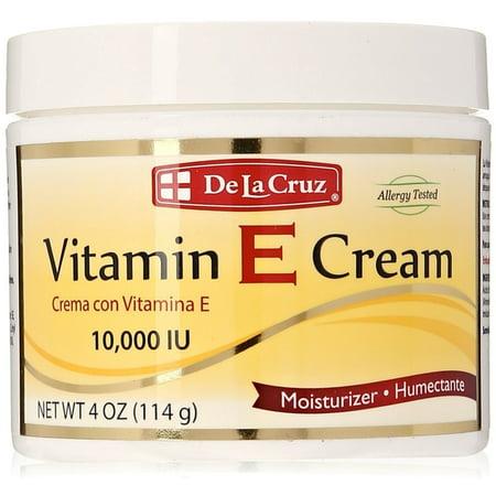 De La Cruz Vitamin E Cream 4 oz ()