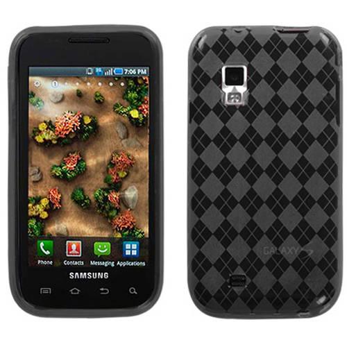 Samsung I500 Fascinate MyBat Candy Skin Cover, Smoke Argyle