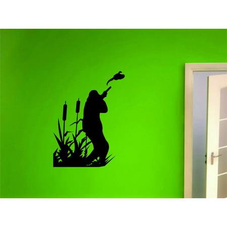 12 Haunting Halloween Decor Ideas (New Wall Ideas Duck Geese Animal Hunting Hunter Man Gun Boys Kids Bed Room Sports 6 X)