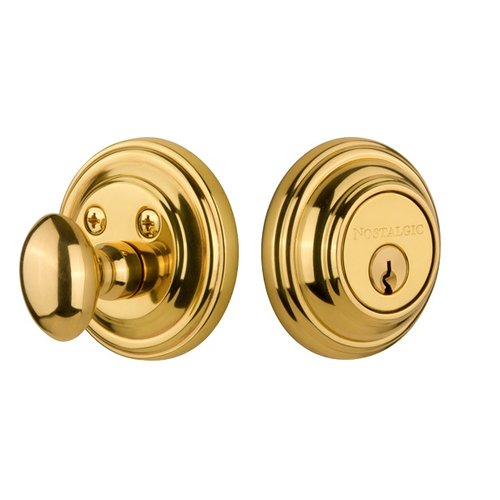 Nostalgic Warehouse Double Cylinder Keyed Alike Deadbolt