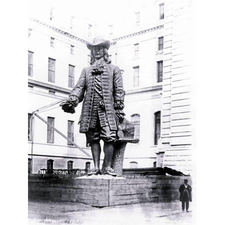 - Statue of William Penn in Courtyard of City Hall, Philadelphia, Pennsylvania Print Wall Art