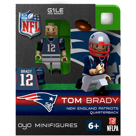 OYO NFL 2013 Patriots Tom Brady Mini Action Figure  Walmart.com