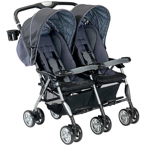 Combi - Sport Double Stroller, Graphite