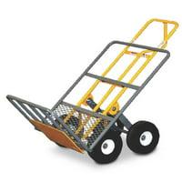 SNAP-LOC ALL-TERRAIN HAND CART 4 WHEEL 750 lb. capacity, 10 inch airless wheels