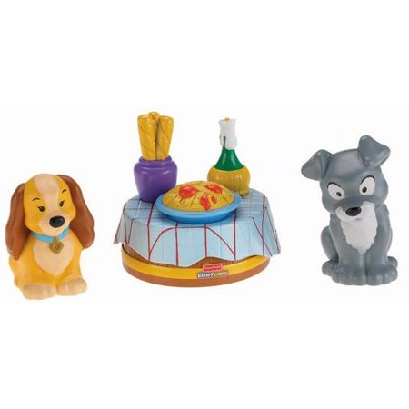 Little People Disney Lady Amp The Tramp Play Set Walmart Com