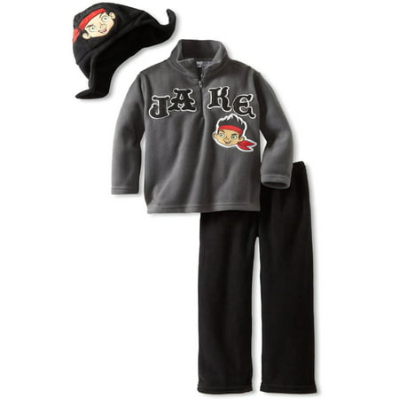 Jake and the Never Land Pirates Toddler Fleece Hat Top and Pants 6J6502