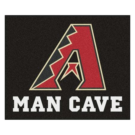 Arizona Diamondbacks Baseball Rug (MLB - Arizona Diamondbacks Man Cave Tailgater Rug 5'x6' )