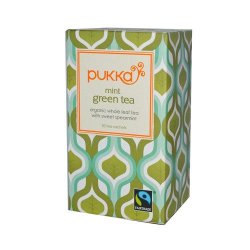 Pukka Herbal Teas Mint Green Tea 20 Bags