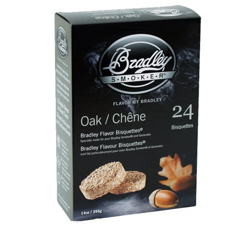Bradley Smokers BTOK24 Bisquettes Smokers, Oak, 24-Pack