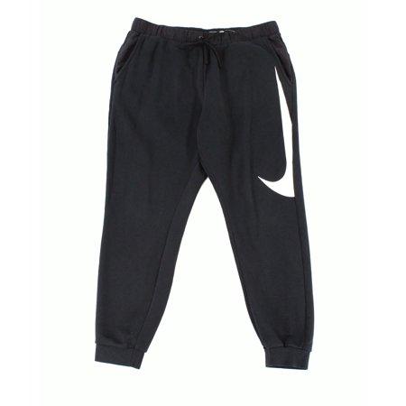 Nike - Nike NEW Black Men Large L Swoosh Logo Jogging Stretch Sweat Pants -  Walmart.com 7e0fa0f115e