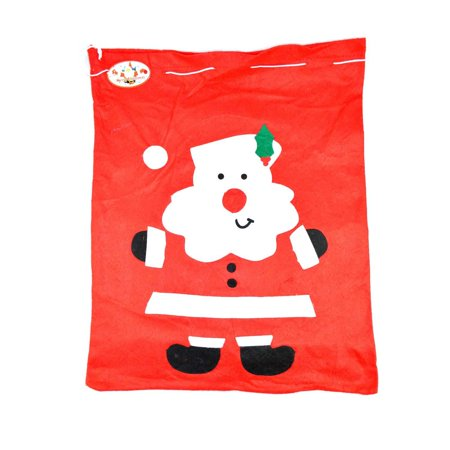 Large Christmas Stocking (LARGE FATHER CHRISTMAS SANTA SACK RED STOCKING BAG GIFT PRESENTS XMAS)