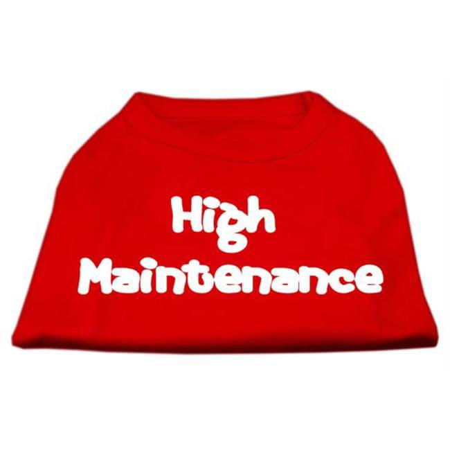 High Maintenance Screen Print Shirts  Red S (10) - image 1 de 1