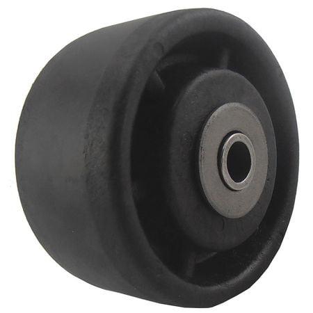 """Caster Wheel,Nylon,4"""",Up to 400 deg. F 5VR56"""