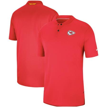 huge discount f3563 5fec0 Kansas City Chiefs Nike Sideline Elite Coaches Performance Polo - Red