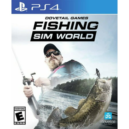 Fishing Sim World, Maximum Games, PlayStation 4, (Best Space Sim Games)
