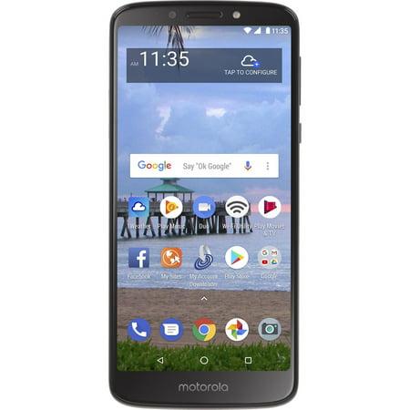 Straight Talk Motorola e5 Prepaid Smartphone ()
