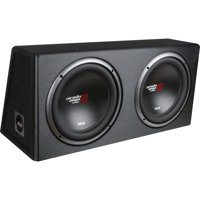 Cerwin-Vega Mobile XE10DV XED Series Dual 10-Inch Subwoofers in Loaded Enclosure