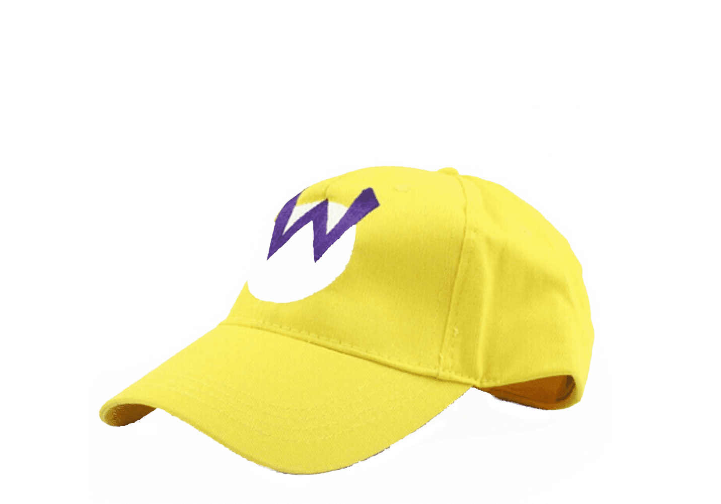 Super Mario Game Baseball Cap Warios W Emblems Logo Hat Embroidered Design