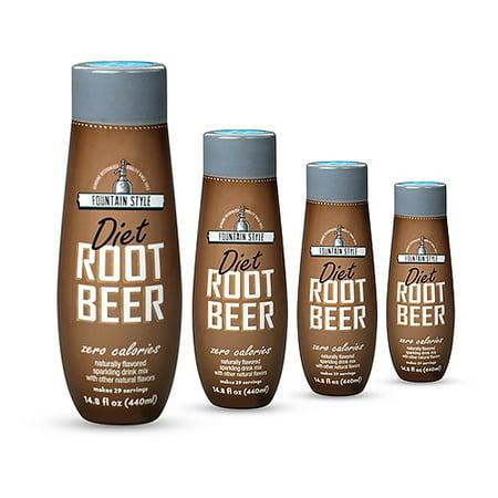 SodaStream Diet Root Beer  (4 Pack) Soda Mix
